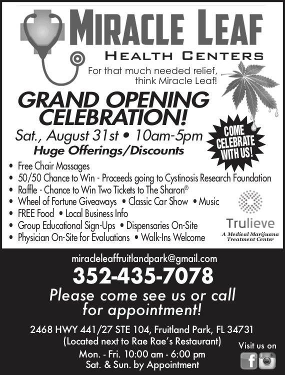 Fruitland Park Grand Opening AD