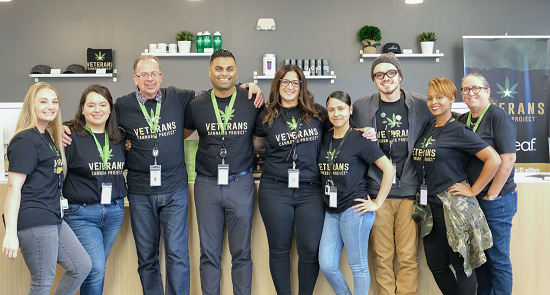 Curaleaf Florida and Veterans Cannabis Project partnership launch day on November 21, 2019